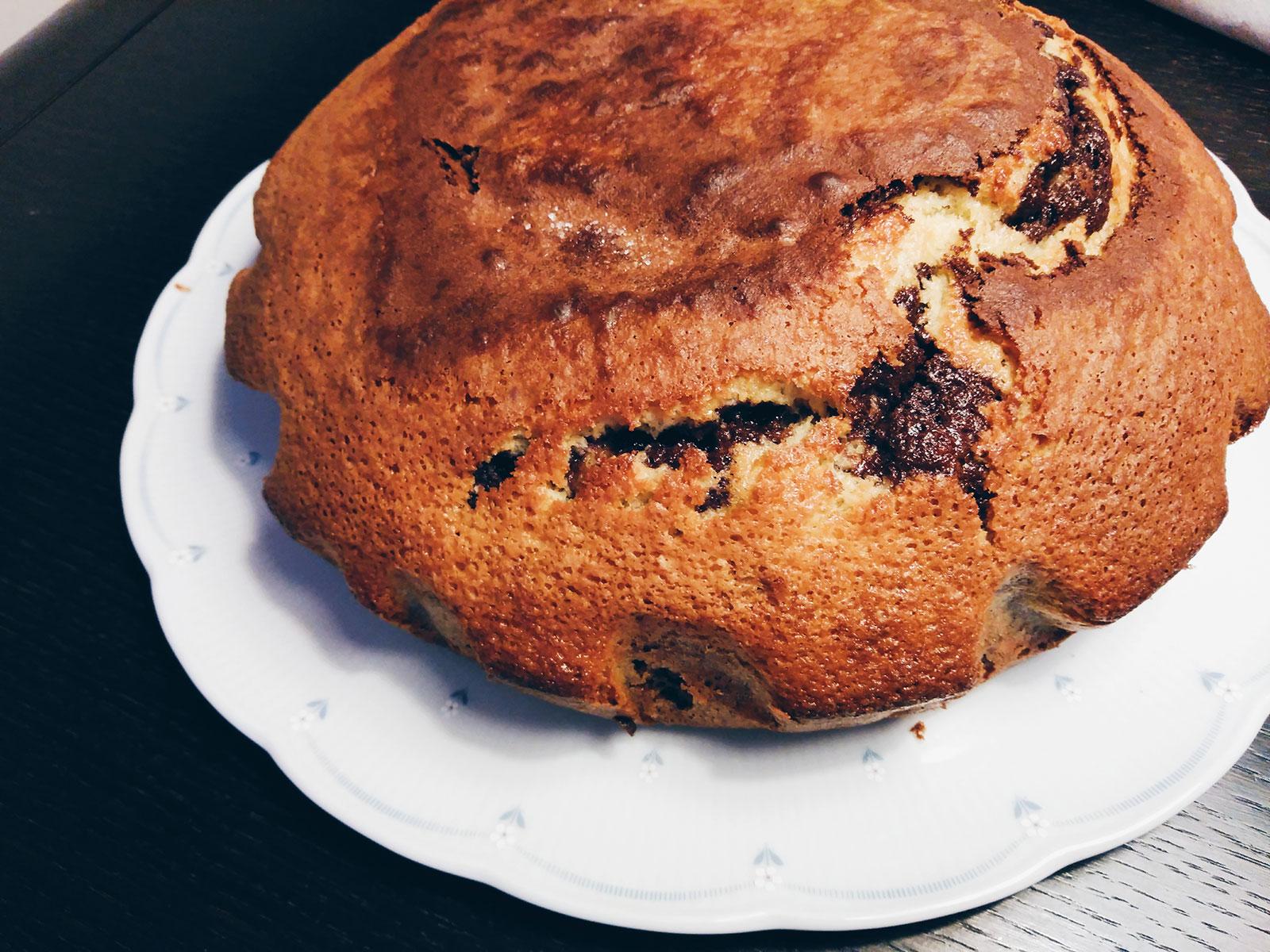 Receta del bizcocho marmolado casero cocina con elisa for Cocina con sergio bizcocho